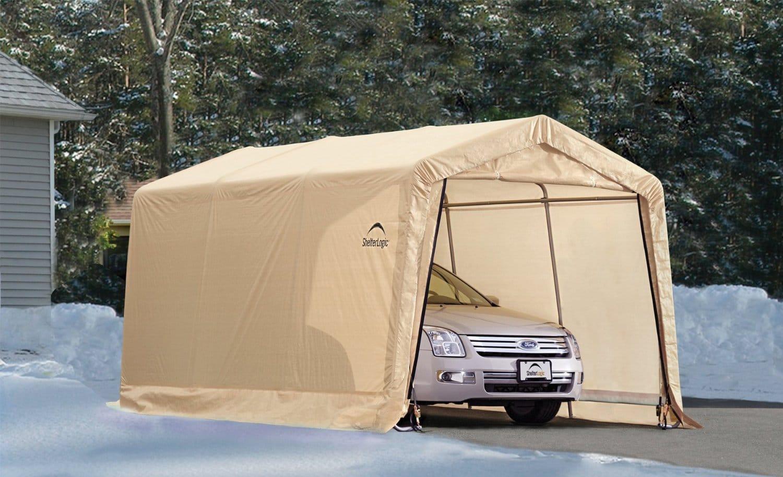 Review Of Sealer Shelterlogic Carport Shelter The Car Stuff